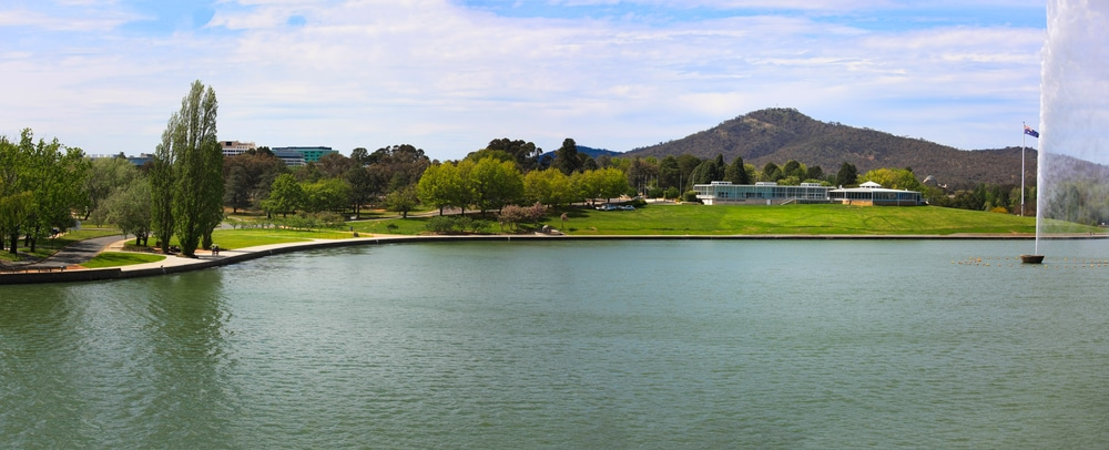 Lake in Canberra