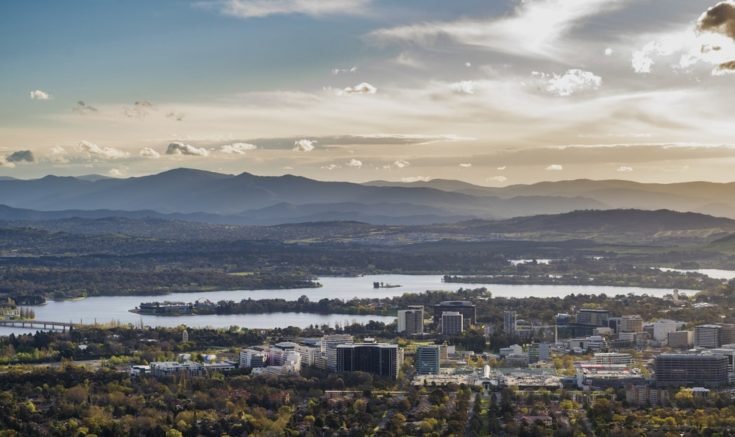 View of Canberra City
