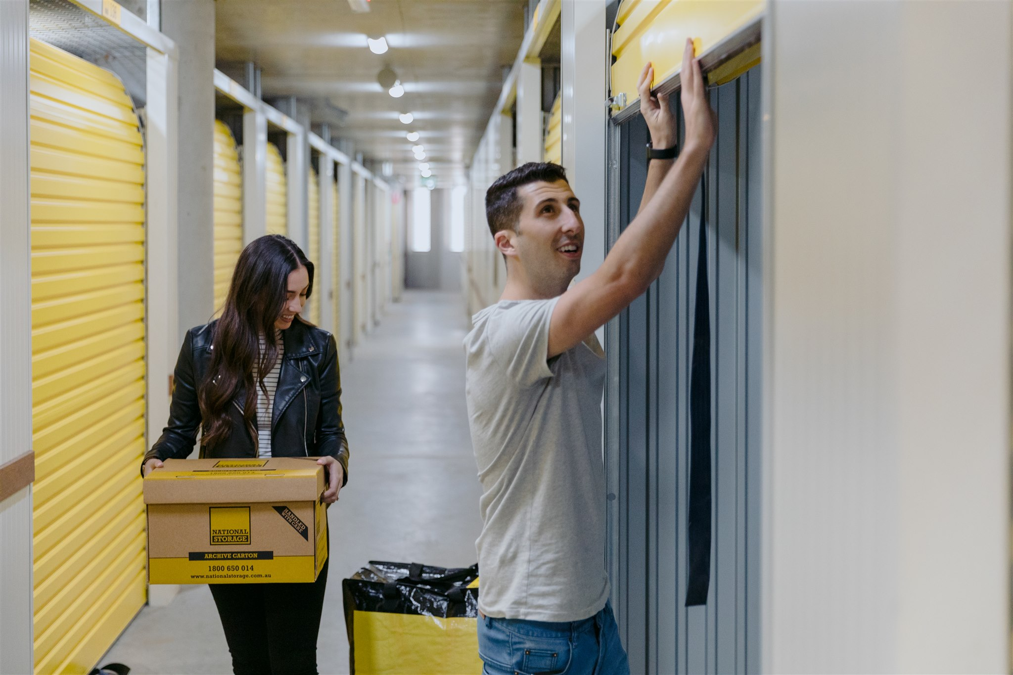 Customers with Storage Unit